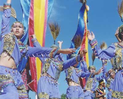 bohol tagbilaran sandugo festival paradise philippines