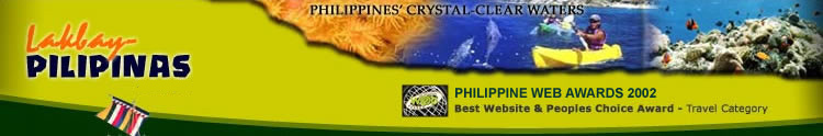 Best Travel Website in the 2002 Philippine Web Awards