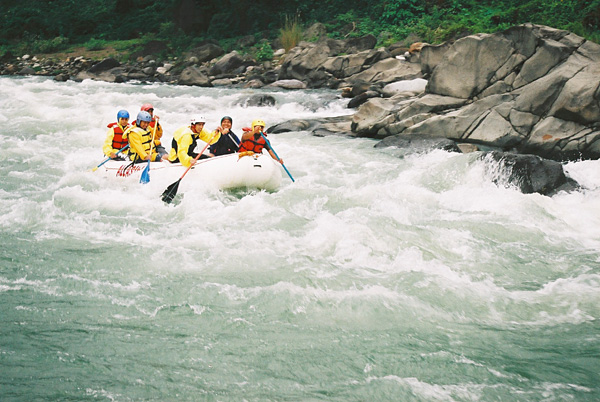 philippines whitewater rafting