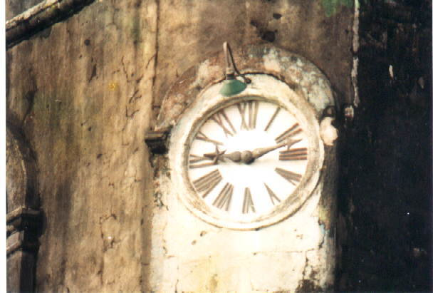 tayabas church clock