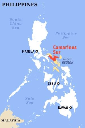 Caramoan Map, Maps of Caramoan Camarines Sur beach-hopping